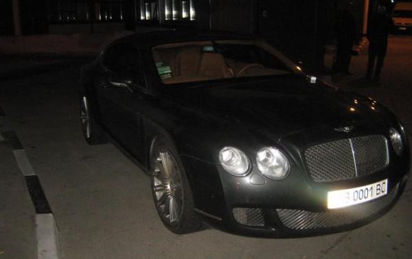 Пограничники задержали Bentley Continental