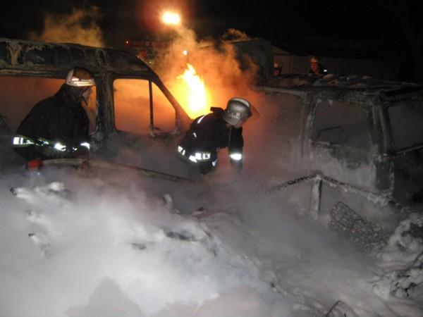 Пожар 20 ноября в Днепровском районе