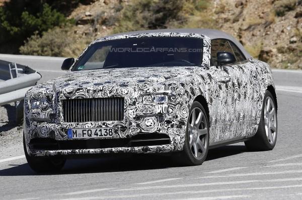 Тестирование Rolls-Royce Dawn