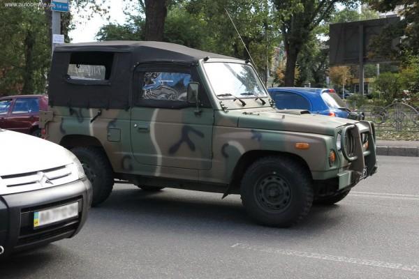 Kia на киевской улице