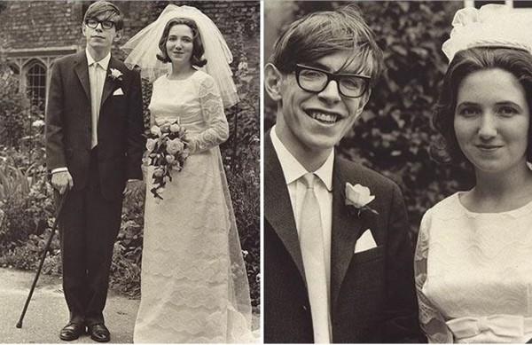 Стивен Хокинг с первой женой