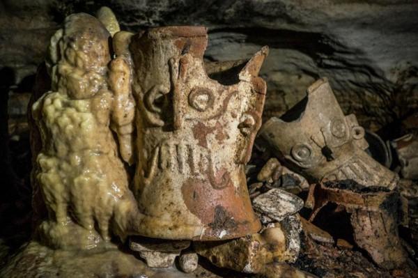 Пещера майя