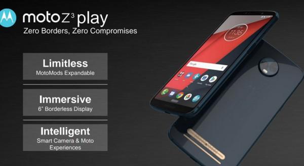 Moto Z3 и Moto Z3 Play