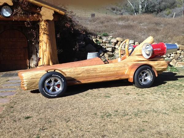 Уникальный деревянный автомобиль
