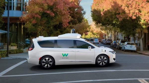 Waymo - беспилотное авто