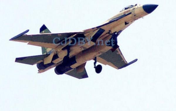 Китайский истребитель скопирован с Су-27