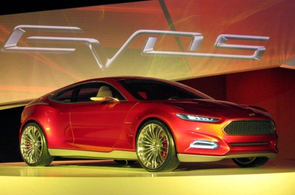 4. Ford Evos
