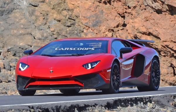 Новый Lamborghini Aventador