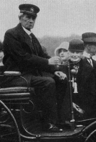 Карл Бенц с супругой