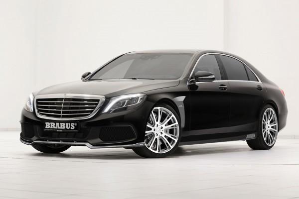 Mercedes-Benz S-Class с доработками Brabus