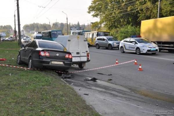 Смертельное ДТП в Тернополе