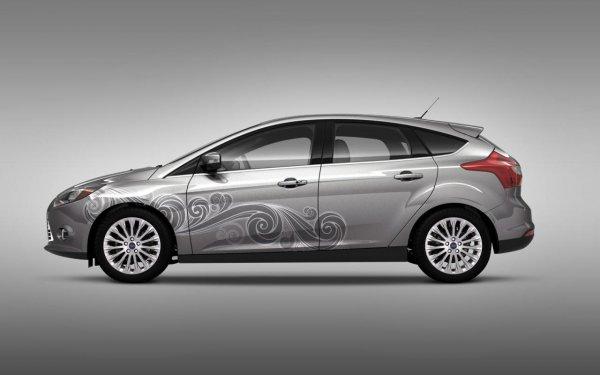 Заводской винил для Ford Focus