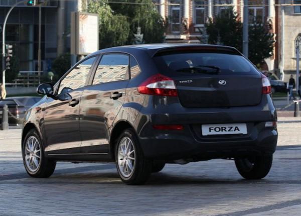 Хэтчбек ZAZ Forza в лучшей комплектации стоит 103 200 гривен