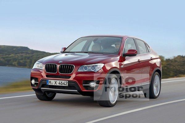 Неофициальная иллюстрация BMW X4
