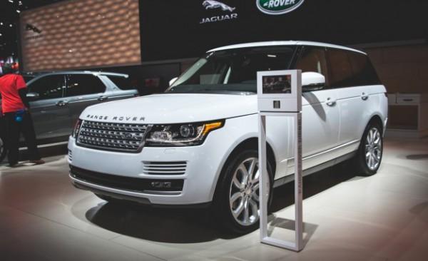 Range Rover в Детройте-2015