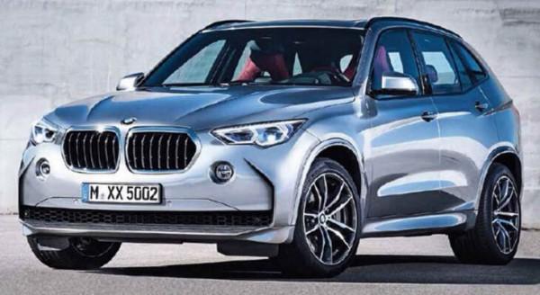 Одна из версий того, как будет выглядеть будущий BMW X5