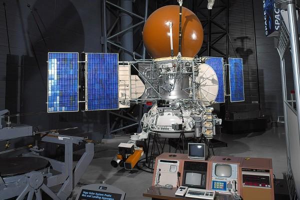 Макет станции Вега-1