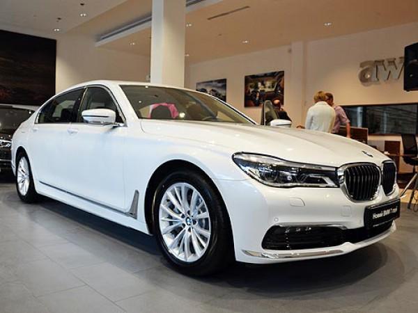 Новая BMW 7-й серии уже в Украине