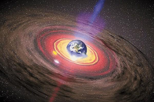Земля может находиться в черной дыре