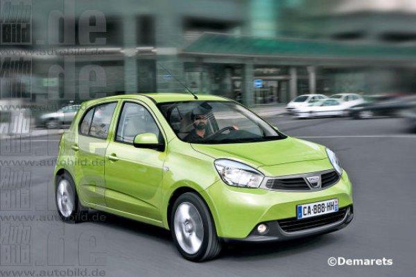 Autobild представил, как может выглядеть Dacia Citadine