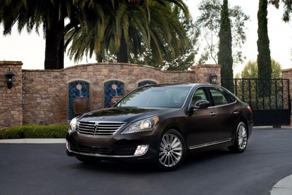 Обновленный Hyundai Equus