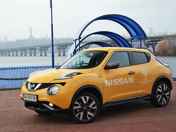 Новый Nissan Juke в Украине