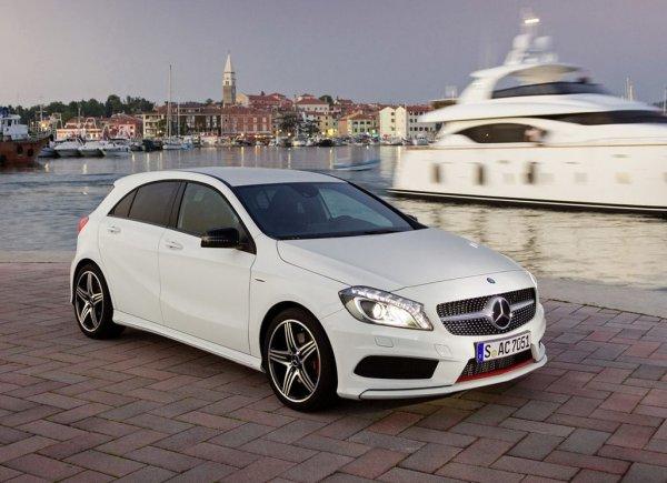 Новый Mercedes A-Class в Украине стоит от 24 689 евро