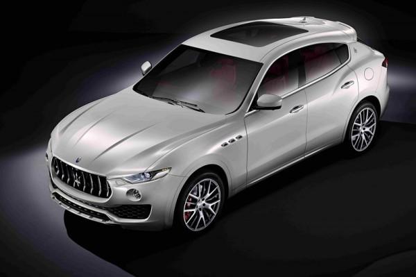 Первый кроссовер от Maserati
