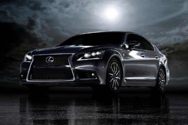 Официальная фотография нового Lexus LS