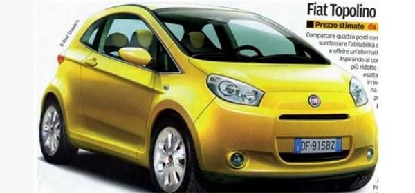 Fiat планирует возродить модель Topolino