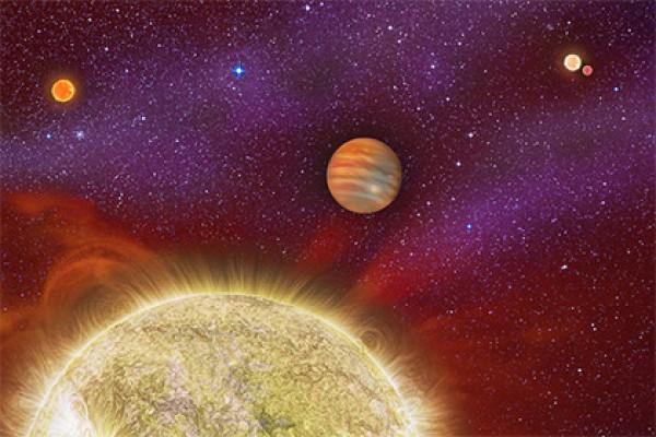 Представление художника о планете
