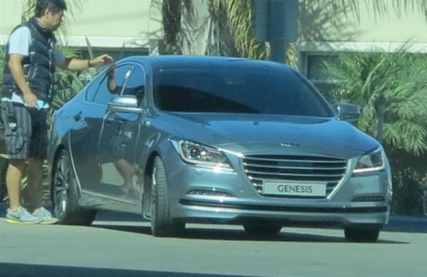 Новый Hyundai Genesis - шпионская фотография