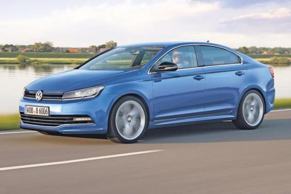 Так может выглядеть Volkswagen Golf CC
