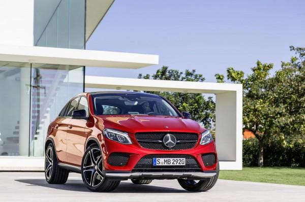 Новый Mercedes-Benz GLE Coupe