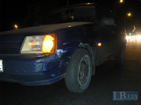 Водитель Славуты рассказал, что мужчина выбежал внезапно