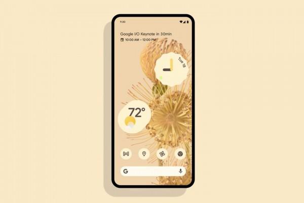 Новый дизайн Android 12