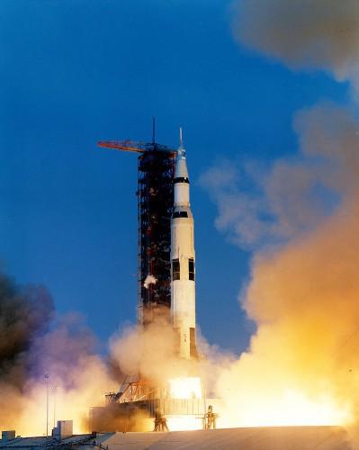 Запуск миссии Аполлон-13