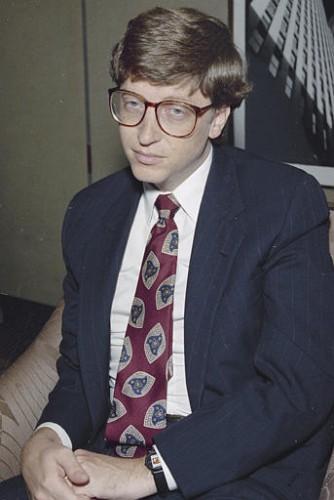 Билл Гейтс. Фото 1991 года.