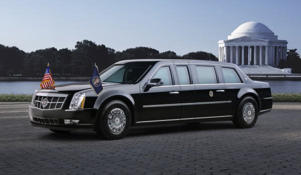 Президентский Cadillac не берут крупнокалиберные пулеметы