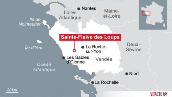 Масштабное ДТП на трассе во Франции