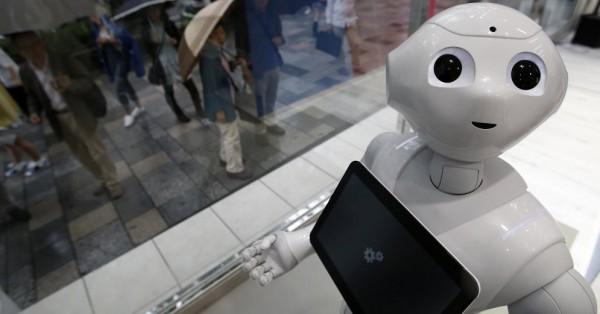 Японец избил робота
