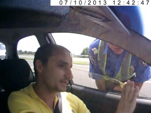 Автор видео попался на Гарпун, который снимал из Ауди
