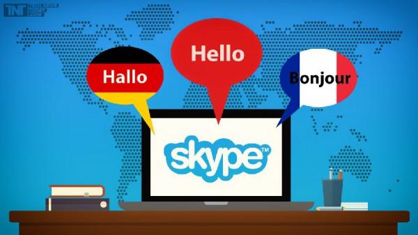 В Skype появилась функция перевода