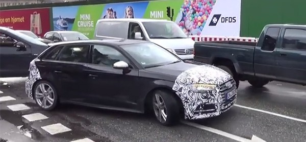 Audi S3 Sportback в Дании