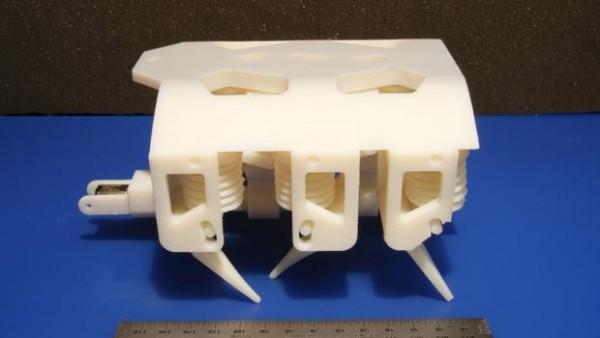Полностью рабочего робота напечатали на принтере
