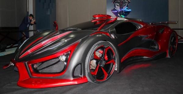 Новый спорткар Inferno