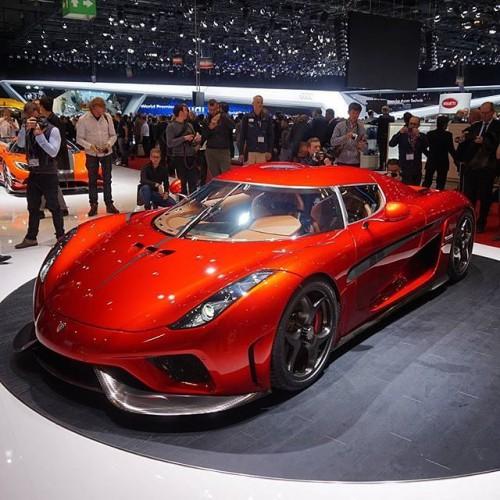 Новые суперкар от Koenigsegg