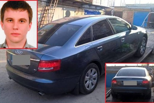 Автомобиль Тараса Познякова нашли