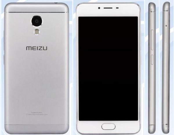 Внешний вид Meizu M3s metal