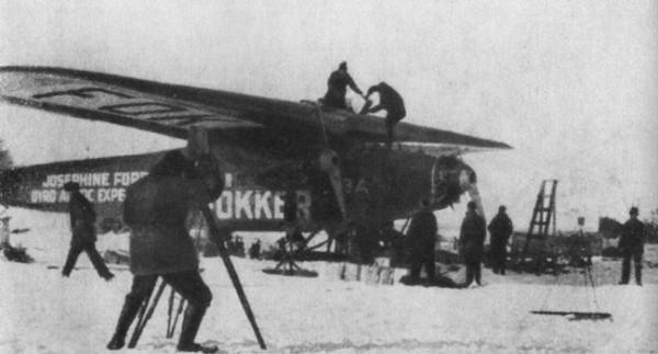 Приземление летчиков